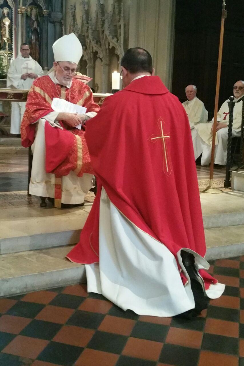 Induction of Our New Parish Priest, Fr Richard Reid CSsR 3rd July 2015