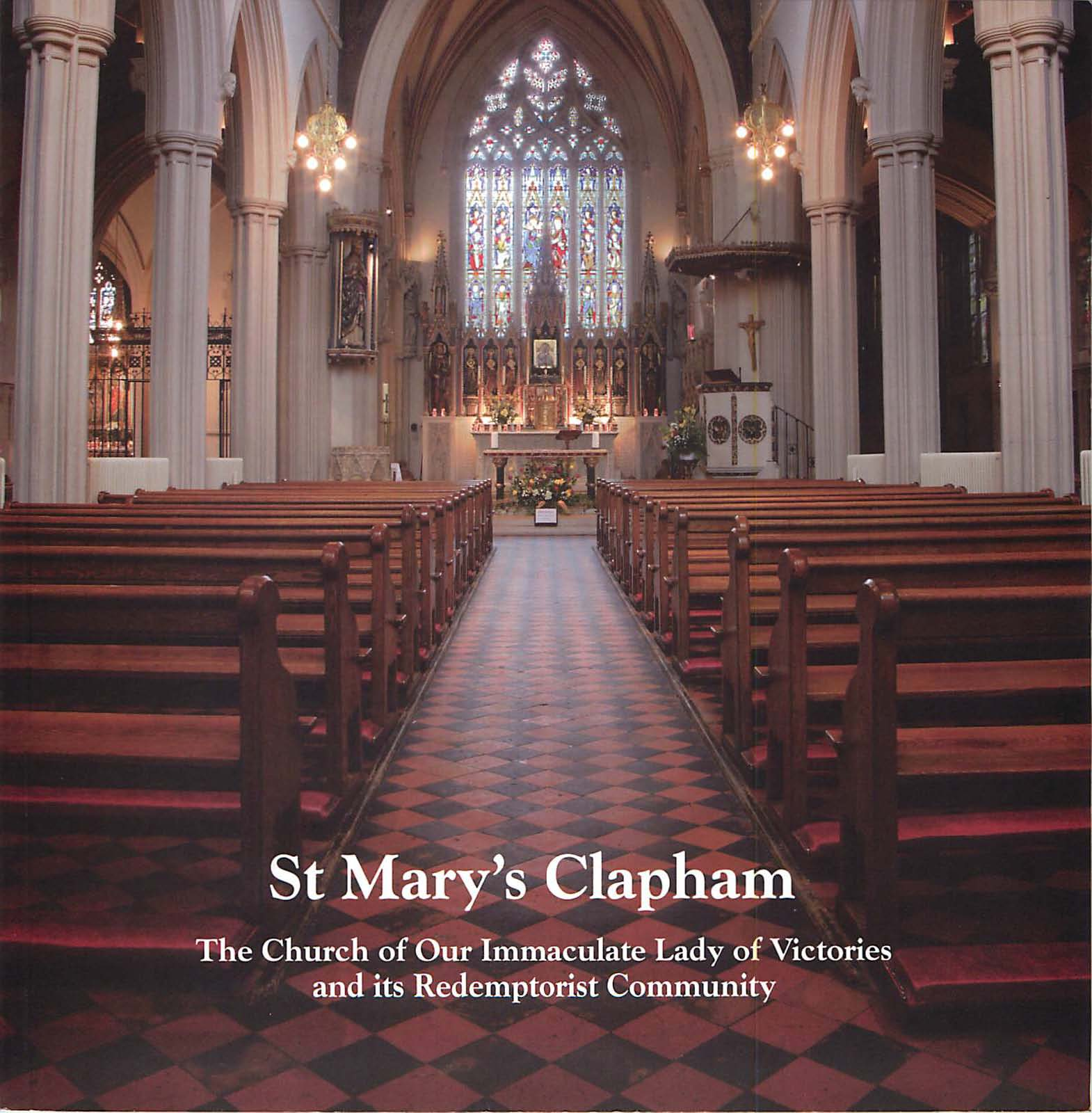 St Mary's CSsR Clapham – Our New Book !!!