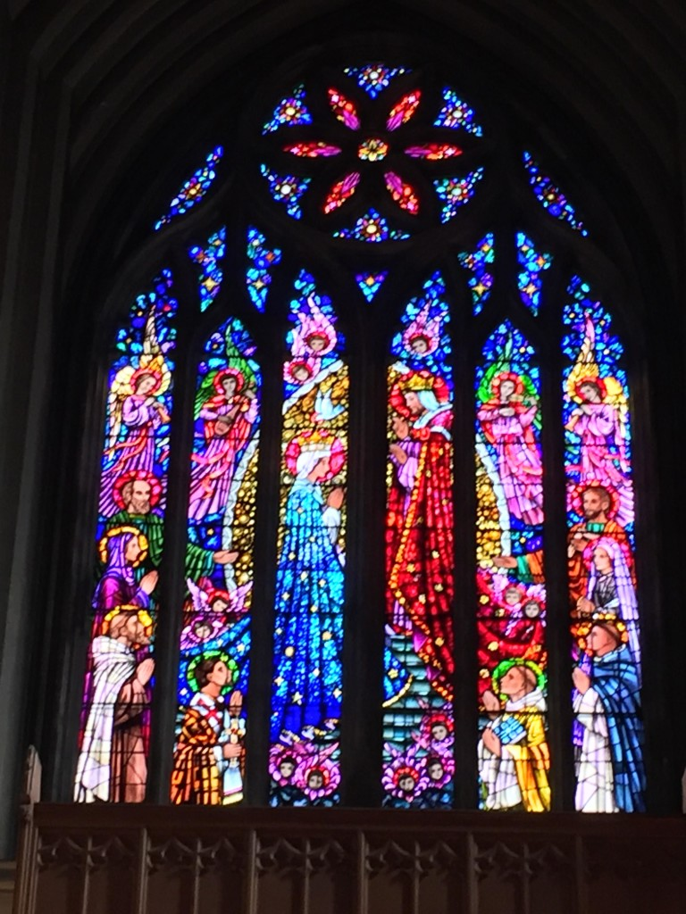 The Breathtaking Stain Glass Windows